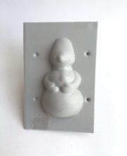 Форма для свечи снеговик